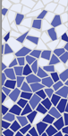 Cobalt, Petrol Blue & White