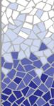Cobalt, Petrol Blue, Caribbean Blue & White