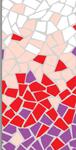 Púrpura, Carmín, Rosa Aurora y Blanco